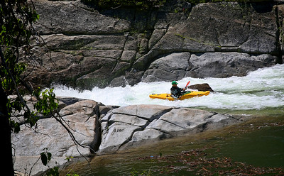 Kayakers - South Yuba river, Cisco Grove, Ca.