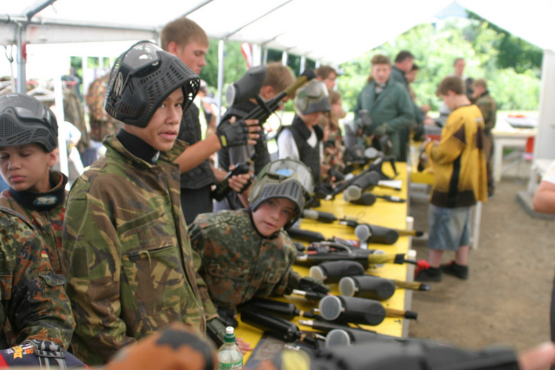 Paintball near Cooperstown, NY<br /> Closter Crushers trip to Cooperstown for tournament<br /> Javier and Luis Montalvo