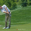 Lucas Glover amking a great shot to land on the green.