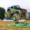 Toxic Monster Truck soars 15 feet plus in the air at the Montgomery County Fair