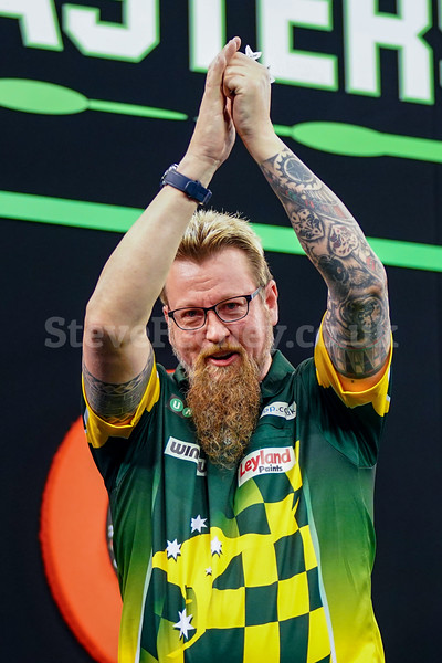 2018 Darts PDC Unibet Masters 1st Round Jan 27th