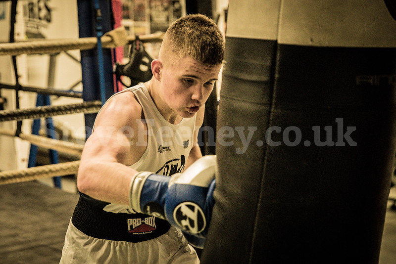 Boxing Solihull Paul Gilmore