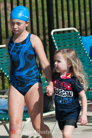 Summer community swim meets is like one large family.