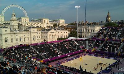 London 2012 - Beach Volleyball final