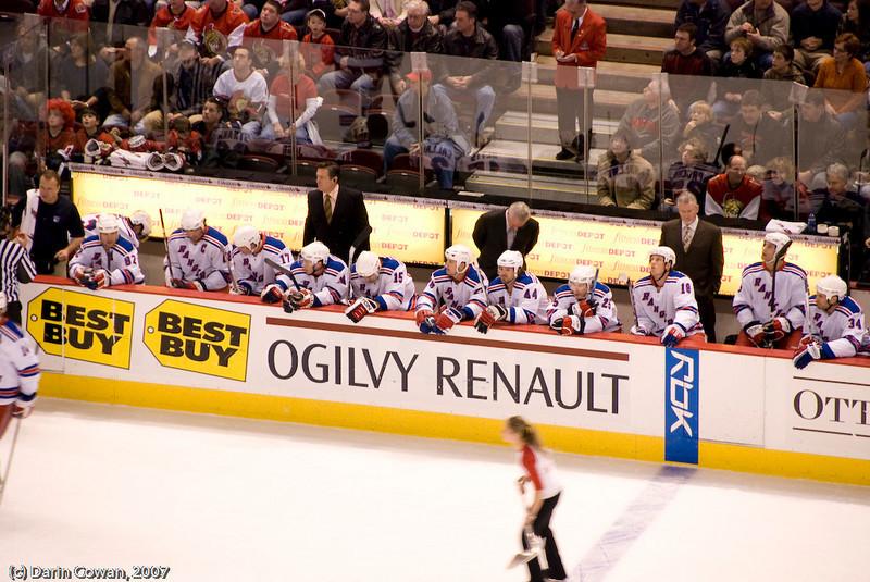 Ottawa Senators vs NY Rangers - 1 Dec 07