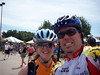 Molli and Jimmy after the ride.