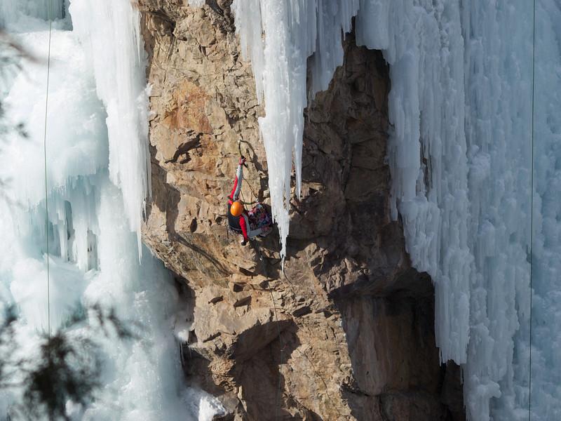 Rock Climbing and Ice Climbing!