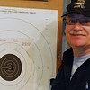High Master Mike Wesotck of Cranbury, NJ with his 100-3X slow fire center fire target