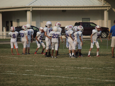 Parkview Baptist 5th/6th Grade Football 2012 - Game 3