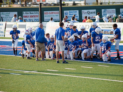 Parkview Baptist 5th/6th Grade Football 2012 - Game 2