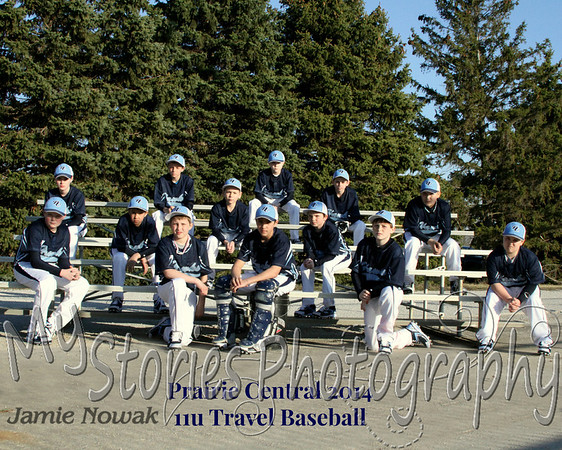 PC 11U Travel BAseball 2014