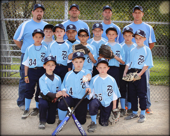 PC 9U 2012 Travel Baseball Banner pics
