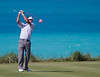 Bubba Watson launches one up 9th during round 1 on Tuesday