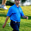David Toms heads down the fairway after his tee shot on Thursday during the first round of the PGA Championships at the Atlanta Athletic Club in Johns Creek, GA.
