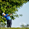 David Toms tees off on Thursday during the first round of the PGA Championships at the Atlanta Athletic Club in Johns Creek, GA.