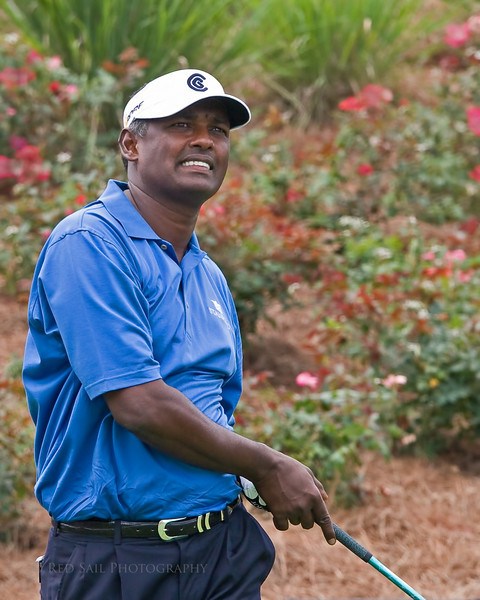 Vijay Singh at the 2009 TPC Sawgrass in Ponte Vedra, Florida.