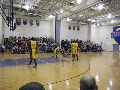 Benfer's Pride vs Harlem Wizards at Tulpehocken High School on March 30. #Slamtastic