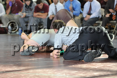189 lbs Anthony Pare, Phillipsburg (NJ) def. Mickey Gall, Watchung Hills (NJ), Pin, 4:24