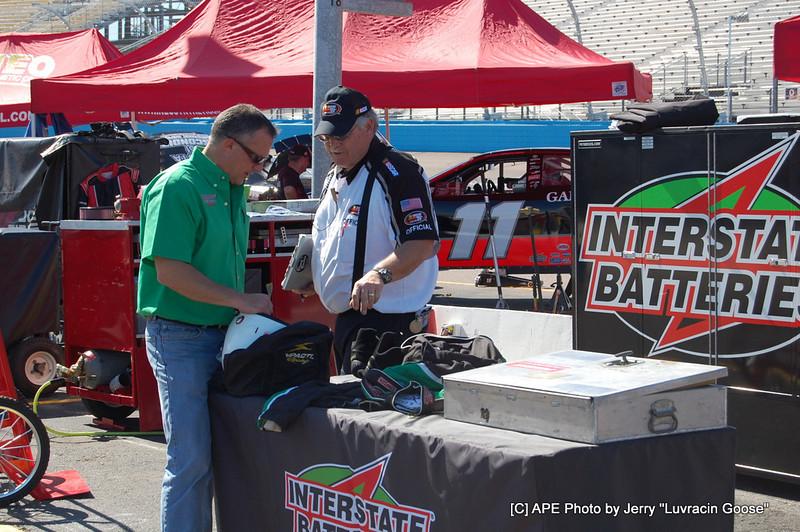 NASCAR Driver safty check