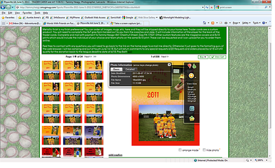 """This image is to show reference of where to find the Image File Name to order custom items.  When you move your cursor over the image above a pop up box shows with thumbs up/down as well as the """"i"""" in a blue icon box. Click on the icon and another box will come up with the specifice file data as well as the FILE NAME xxxxxxx.JPG. Custom Magazine covers can be ordered with other items within this online gallery. Please allow 5 business days to upload your custom order before ordering all items."""
