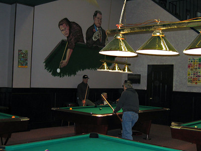 POOL TOURNAMENT DEC 2005