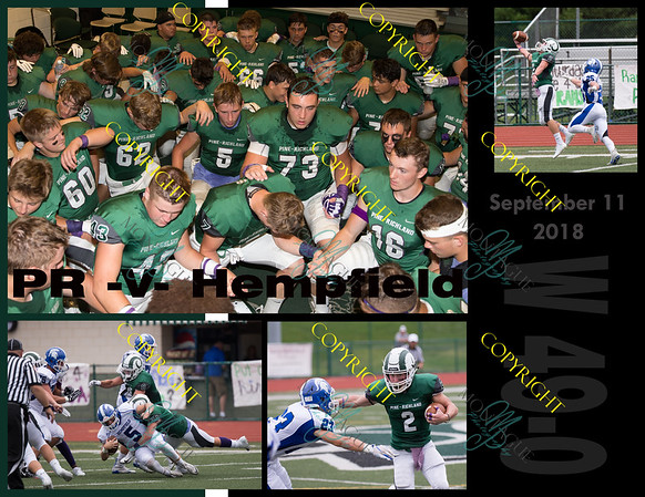PR Football book