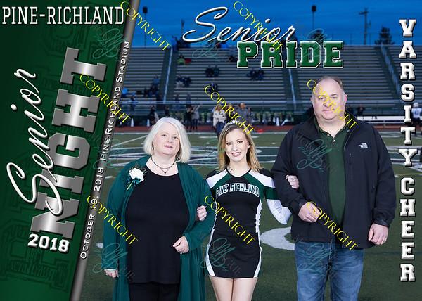 PR Senior Night 2018 Football & Cheer