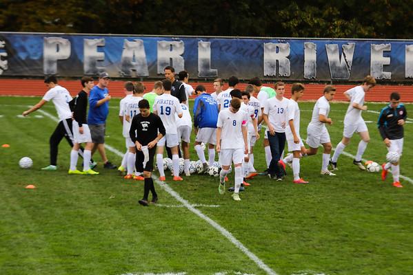 PR Varsity Soccer Playoffs vs Lourdes 10-20-16