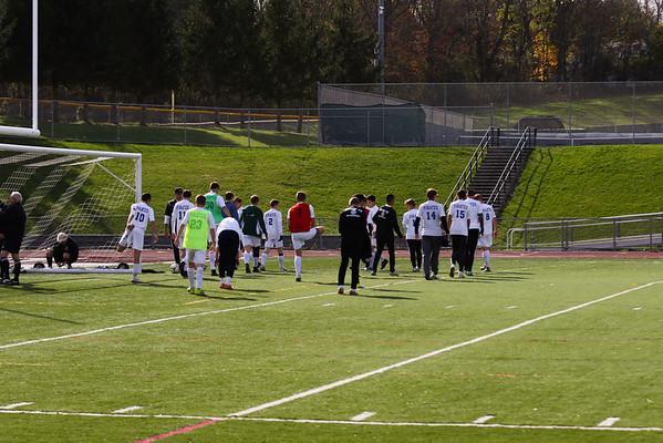 PR Varsity Soccer Regional Finals vs Somers 10-29-16