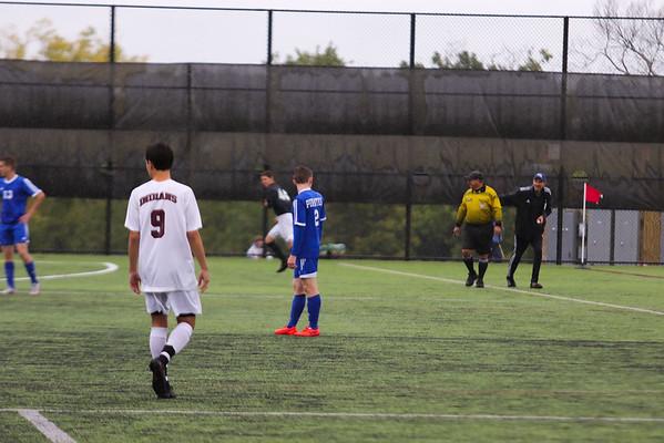 PR Varsity Soccer vs Nyack 9-30-16