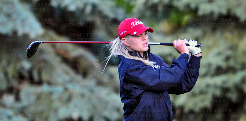 Wayzata senior Liz Bauernfeind tied for 26th Place in the girls 3A state golf tournament Tuesday, June 12, at Bunker Hills Golf Course in Coon Rapids.  Bauernfeind shot rounds of 92, and 80.