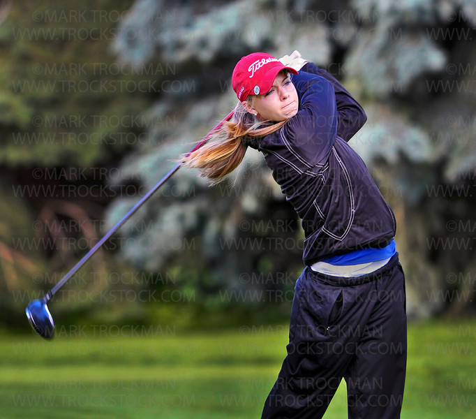 Wayzata sophomore Sarah Burnham tied for 13th place at the girls 3A state golf tournament Tuesday, June 12, at Bunker Hills Golf Course in Coon Rapids.  Burnham shot rounds of 80, and 83.