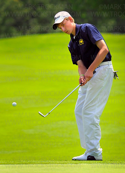 Wayzata golfer Kyle Beversdorf tied for second place June 16 in class 3A with a final score of 144 after two days of state tournament competition at Bunker Hills Golf Course in Coon Rapids.