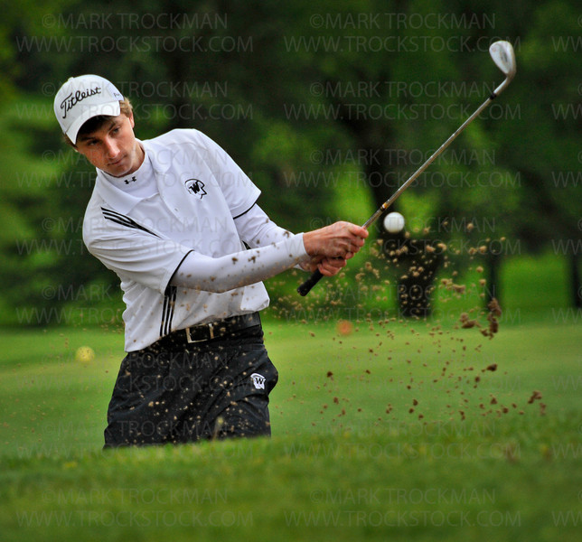 Number-one Wayzata golfer and medalist Kyle Beversdorf helped his team beat Minnetonka 210-217 Thursday, May 13, at Minnetonka Country Club.