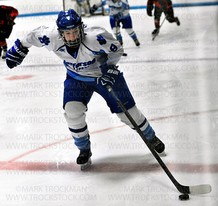 Jefferson sophomore Olivia Stone (9) in action against St. Louis Park Saturday, Jan. 17, at Bloomington Ice Garden.