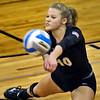 Tonka senior OH Anna Schrupp S in action against Eden Prairie, Tuesday, Oct. 28, at Benilde-St. Margaret's.