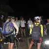 Briefing at our 5:30AM start on race day!
