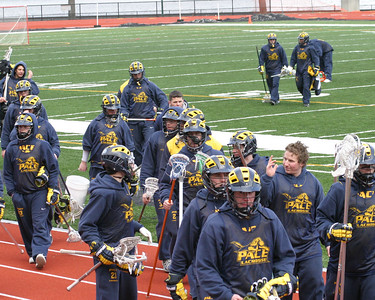 Pace Lax Versus Army JV Scrimmage