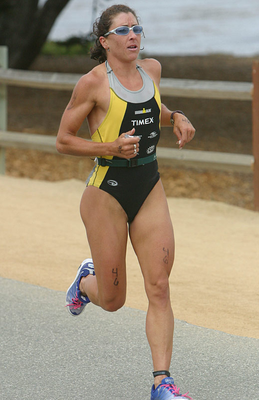 Women's pro and Becky Gibb's training partner Gina Kehr placed second