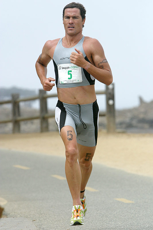Men's pro Craig Alexander was second overall