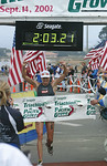 Becky Gibbs wins her third Pacific Grove in a row