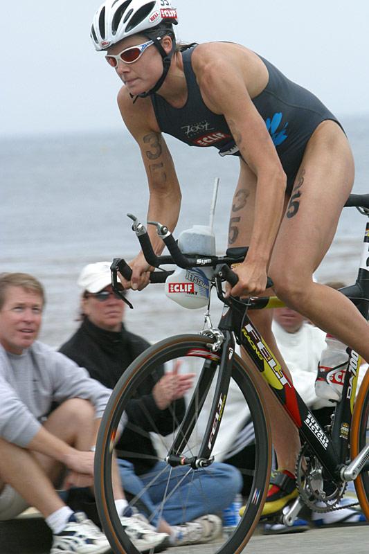 Women's winner Becky Gibbs