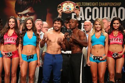 Pacquiao vs. Bradley 3 Weigh-In