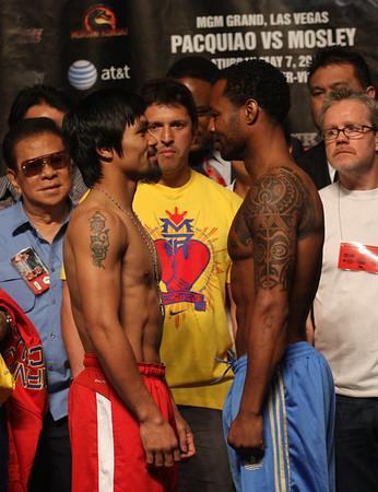 Manny Pacquiao vs. Sugar Shane Mosley