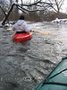 Dont Think of Tipping Over - Winter Kayaking in Michigan
