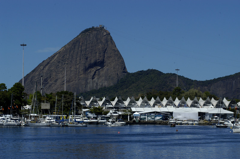 A view of the Marina da Gloria, site for sailing in the Pan-Am Games in July 2007.(AustralFoto/Douglas Engle)