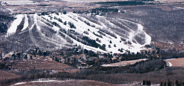 Aerial Panorama of Beaver Valley Ski Club