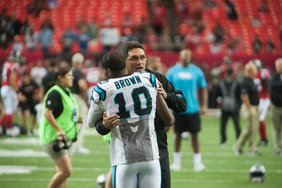 Panthers vs Falcons 10-2-16 by Jon Strayhorn