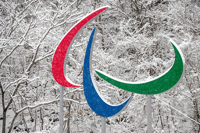Fresh snow just before the start of the PyenongChang 2018 Paralympic Winter Games