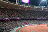 A sell out crowd at the Olympic Stadium, Sunday 2nd September 2012